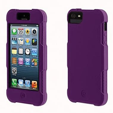Griffin Protector Silicone Case For iPhone 5, Purple