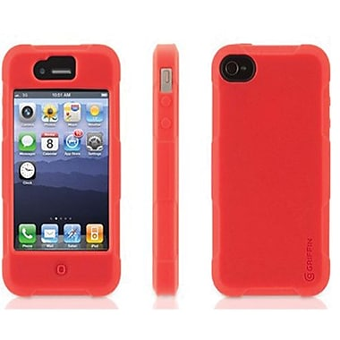 Griffin Protector Silicone Case For iPhone 5, Red