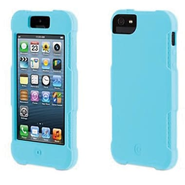 Griffin Protector Silicone Case For iPhone 5, Turquoise
