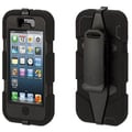 Griffin Survivor Hybrid Case & Holster For iPhone 5, Black