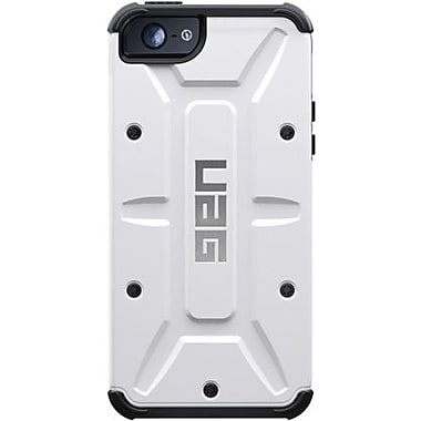 Urban Armor GearNavigator Composite Hybrid Case For iPhone 5, White/Black