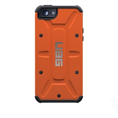 Urban Armor GearOutland Composite Hybrid Case For iPhone 5, Rust/Black