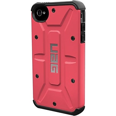 Urban Armor GearValkyrie Composite Hybrid Case For iPhone 4/4S, Plasma/Black