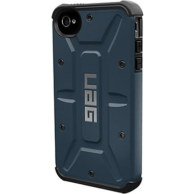 Urban Armor GearAero Composite Hybrid Case For iPhone 4/4S, Slate/Black