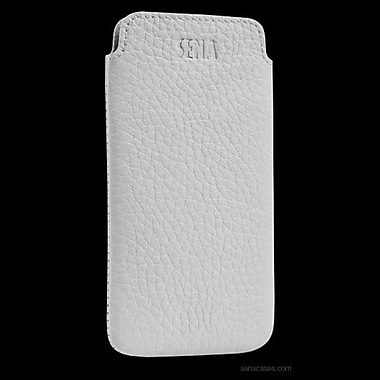 Sena Ultra Slim Classic Leather Sleeve For iPhone 5, White