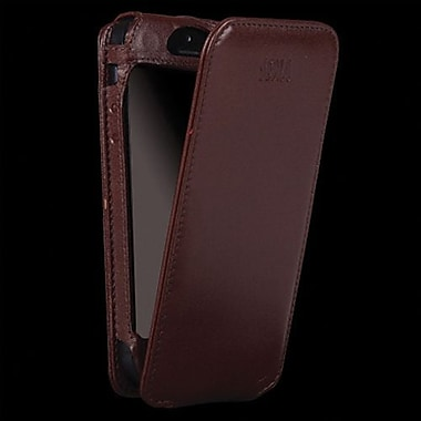 Sena Magnet Flipper Leather Case For iPhone 5, Brown
