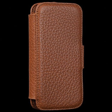 Sena WalletBook Leather Case For iPhone 5, Tan