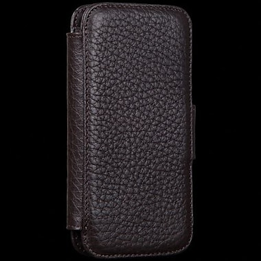 Sena WalletBook Leather Case For iPhone 5, Brown