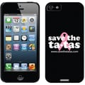 Coveroo Save the Ta-tas Logo Thinshield Slim Case For iPhone 5, Black