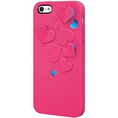 SwitchEasy™ Kirigami™ Hot Love Hard Case For iPhone 5, Pink