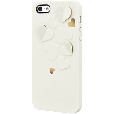 SwitchEasy™ Kirigami™ Pure Love Hard Case For iPhone 5, White