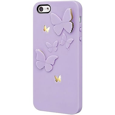 SwitchEasy™ Kirigami™ LavenderWings Hard Case For iPhone 5, Purple