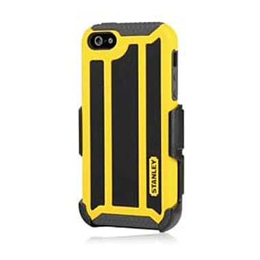 Incipio® Stanley Highwire Hybrid Case & Holster For iPhone 5, Black/Yellow
