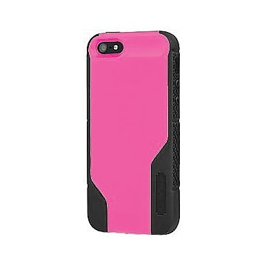 Incipio® Stanley Technician Hybrid Case & Holster For iPhone 5, Gray/Pink