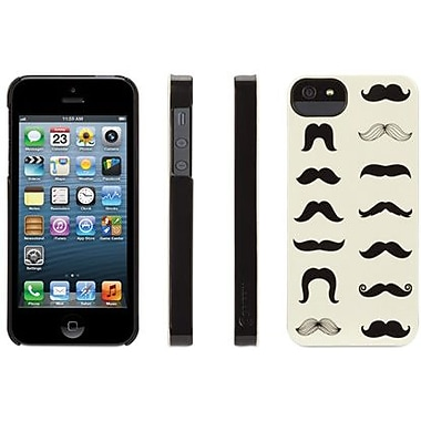 Griffin Mustachio Hard Case For iPhone 5, Black