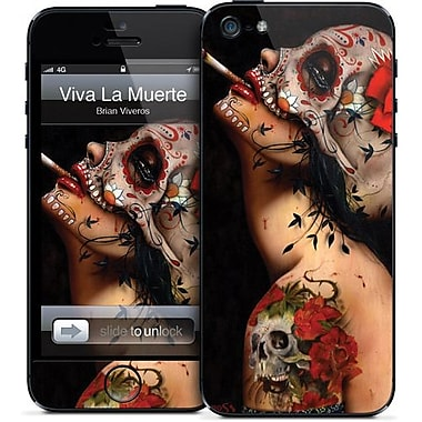 GelaSkins Viva La Muerte Protective GelaSkin For iPhone 5, Black