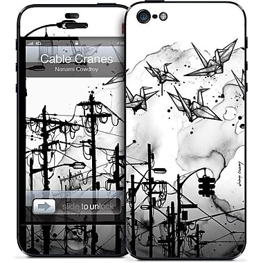 GelaSkins Cable Cranes Protective Skin For iPhone 5, Red