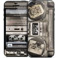 GelaSkins Boombox II Protective Skin For iPhone 5, Black/White