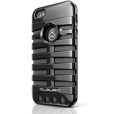 Musubo™ Retro Hybrid Case For iPhone 5, Black