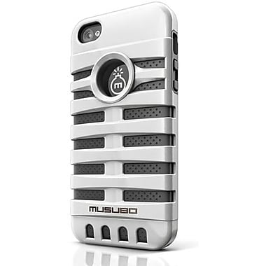 Musubo™ Retro Hybrid Case For iPhone 5, White