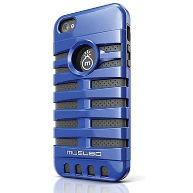 Musubo™ Retro Hybrid Case For iPhone 5, Blue