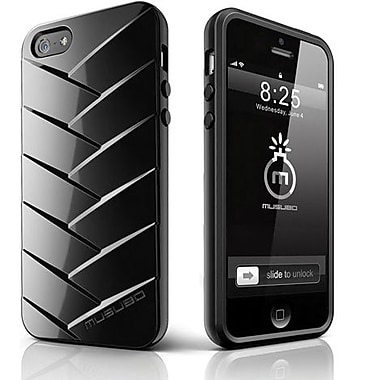Musubo™ Mummy TPU Jelly Case For iPhone 5, Black