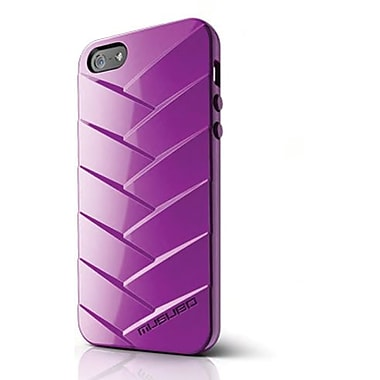 Musubo™ Mummy TPU Jelly Case For iPhone 5, Purple