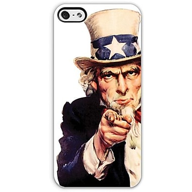 Headcase™ Uncle Sam Co-Molded Hybrid Case For iPhone 5, White