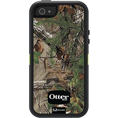 OtterBox® Defender Realtree Series Hybrid Case For iPhone 5, Xtra Green