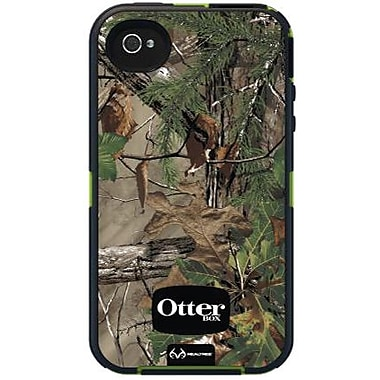 OtterBox® Defender Realtree Series Hybrid Case For iPhone 4/4S, Xtra Green