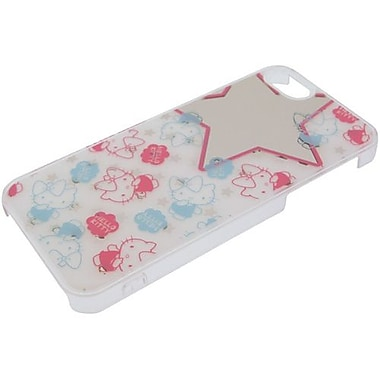 iDress Kitty & Mimmy Hello Kitty Mirror Hard Case For iPhone 5, White