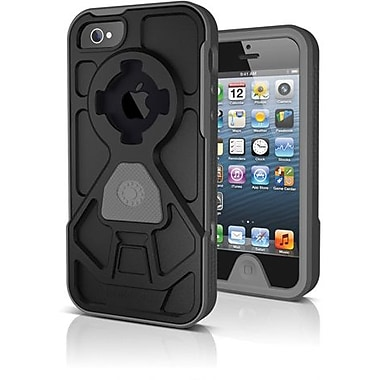 Rokform® Rokshield V.3 Hard Case For iPhone 5, Gunmetal/Black