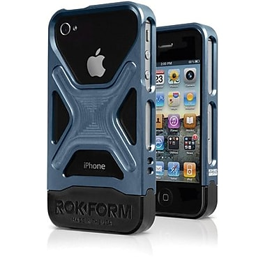 Rokform® Rokbed Fuzion Hybrid Case For iPhone 4/4S, Gunmetal