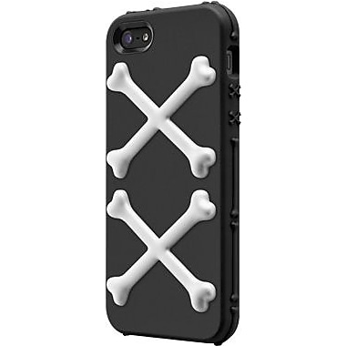 SwitchEasy™ Bones™ Hybrid Case For iPhone 5, Pirate Black