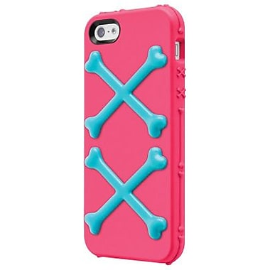 SwitchEasy™ Bones™ Hybrid Case For iPhone 5, Poison Pink