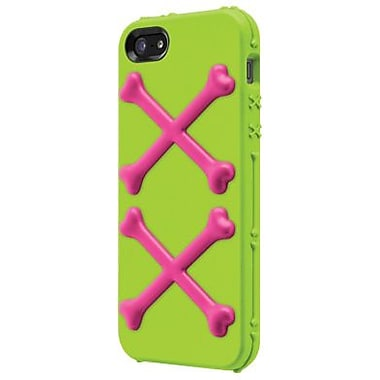 SwitchEasy™ Bones™ Hybrid Case For iPhone 5, Toxic Lime