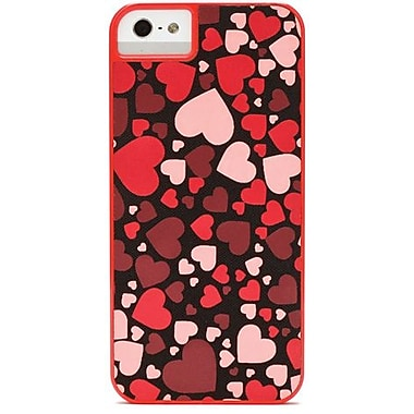 X-Doria Dash Icon Fluttering Hearts Hard Case For iPhone 5