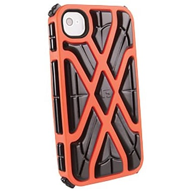 G-Form® X-Style RPT Hybrid Case For iPhone 4/4S, Orange