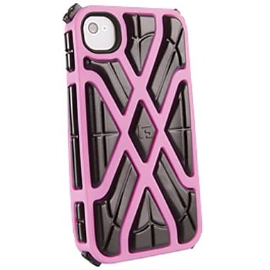 G-Form® X-Style RPT Hybrid Case For iPhone 4/4S, Pink