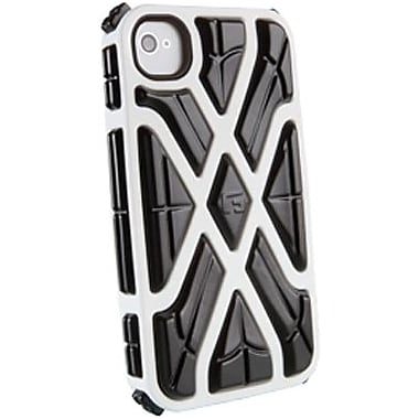 G-Form® X-Style RPT Hybrid Case For iPhone 4/4S, White