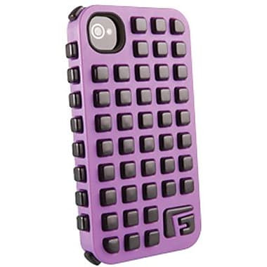 G-Form® Square RPT Hybrid Case For iPhone 4/4S, Purple