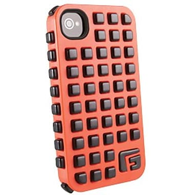G-Form® Square RPT Hybrid Case For iPhone 4/4S, Orange