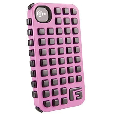 G-Form® Square RPT Hybrid Case For iPhone 4/4S, Pink