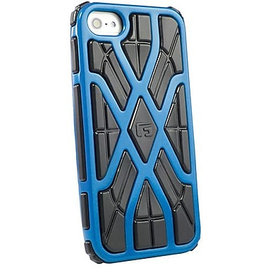 G-Form® X-Style RPT Hybrid Case For iPhone 5, Blue/Black