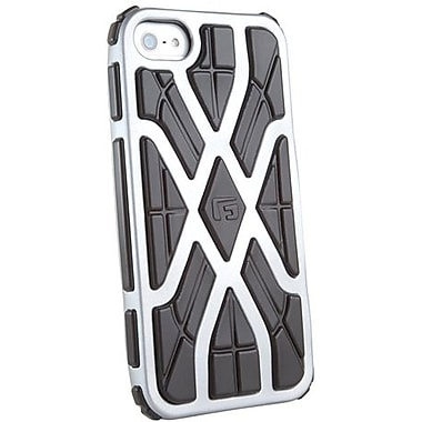 G-Form® X-Style RPT Hybrid Case For iPhone 5, Silver/Black