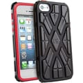 G-Form® X-Style RPT Hybrid Case For iPhone 5, Black/Red