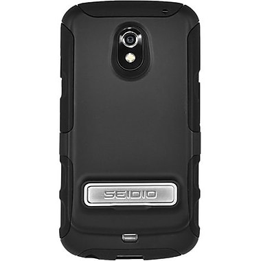 Seidio® Active® Extended Case W/Kickstand For Samsung Galaxy Nexus, 3800/3500 mAh, Black