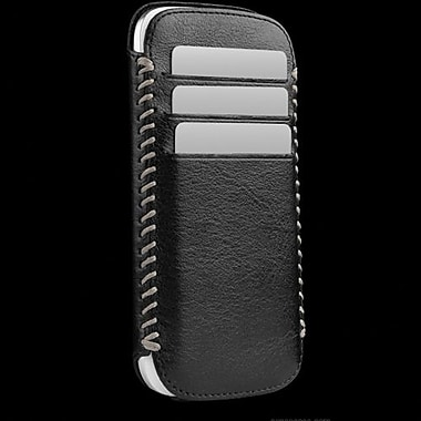 Sena Lusio Leather Wallet For Samsung Galaxy S III, Black/Gray