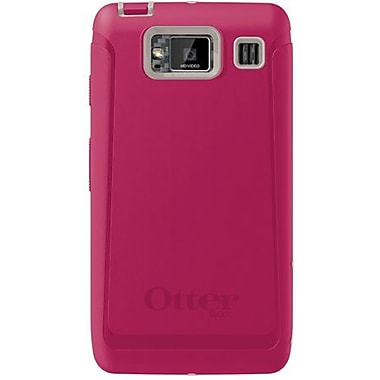 OtterBox® Defender Series Hybrid Case & Holster For Motorola Droid RAZR MAXX HD, Blushed