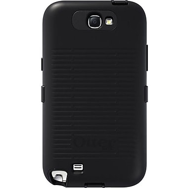 OtterBox® Defender Series Hybrid Case & Holster For Samsung Galaxy Note II, Black